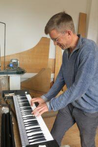 David Yearsley at Clavinet
